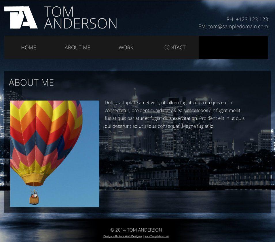 Fantastisch Xara Webdesigner Vorlagen Bilder - Beispiel Business ...